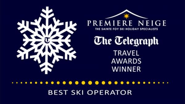 The Telegraph best ski operator award for Premiere Neige