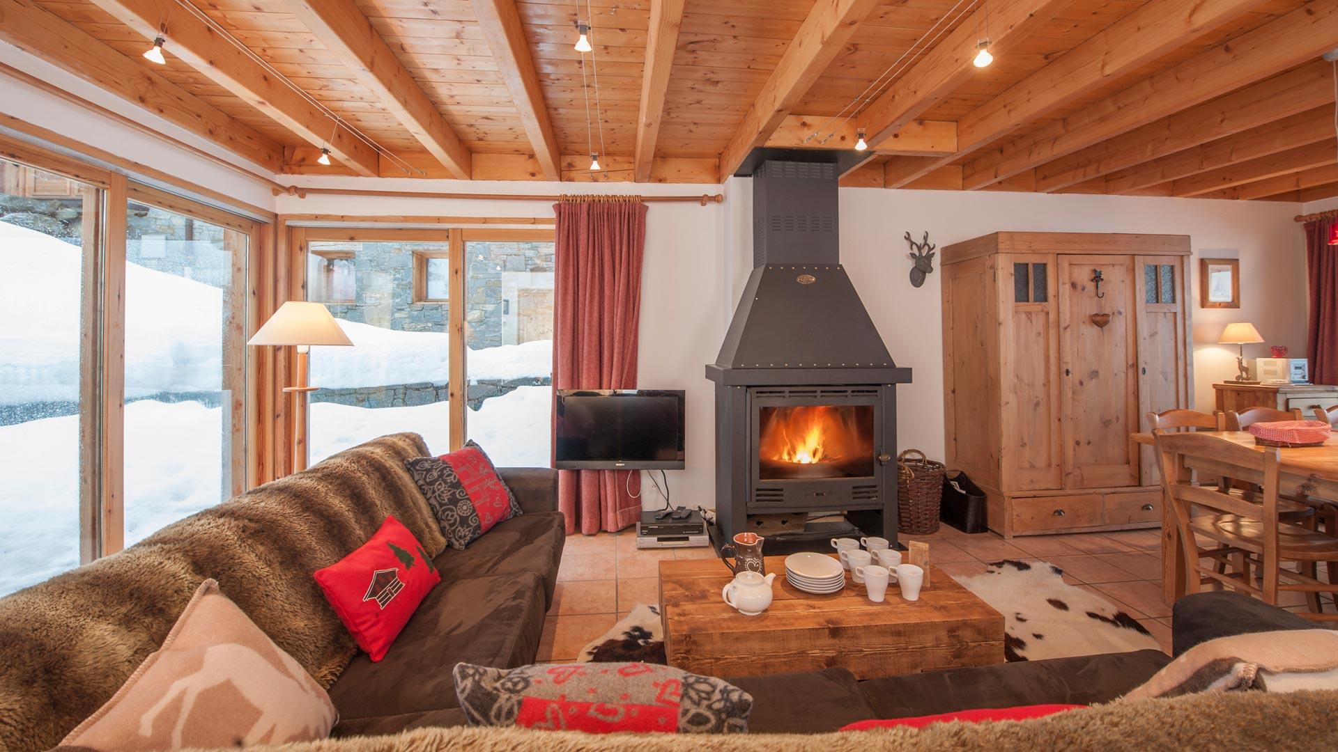 Living Area in C'est la Vie in Ste Foy