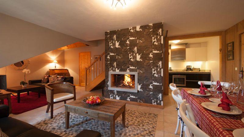 Living Area in L'Ourse de Savoie Apartment in Ste Foy