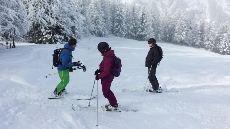Skiing with Premiere Neige, Sainte Foy