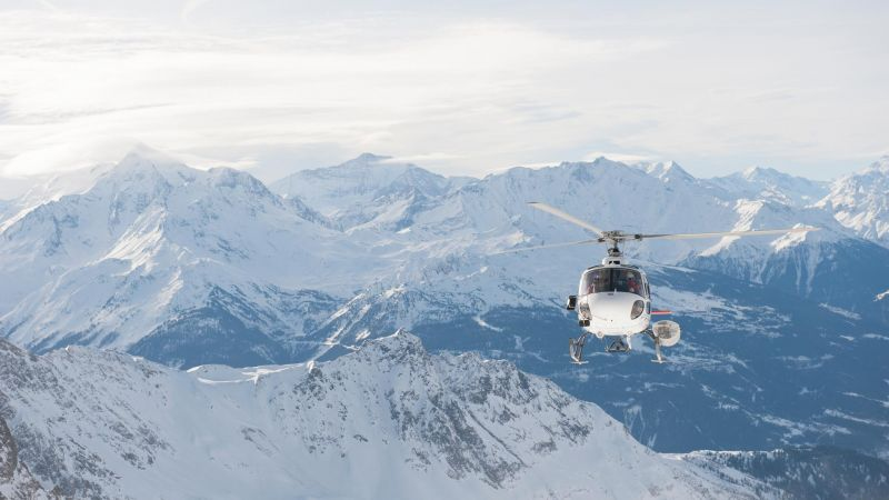 Helicopter transfers from Chambery