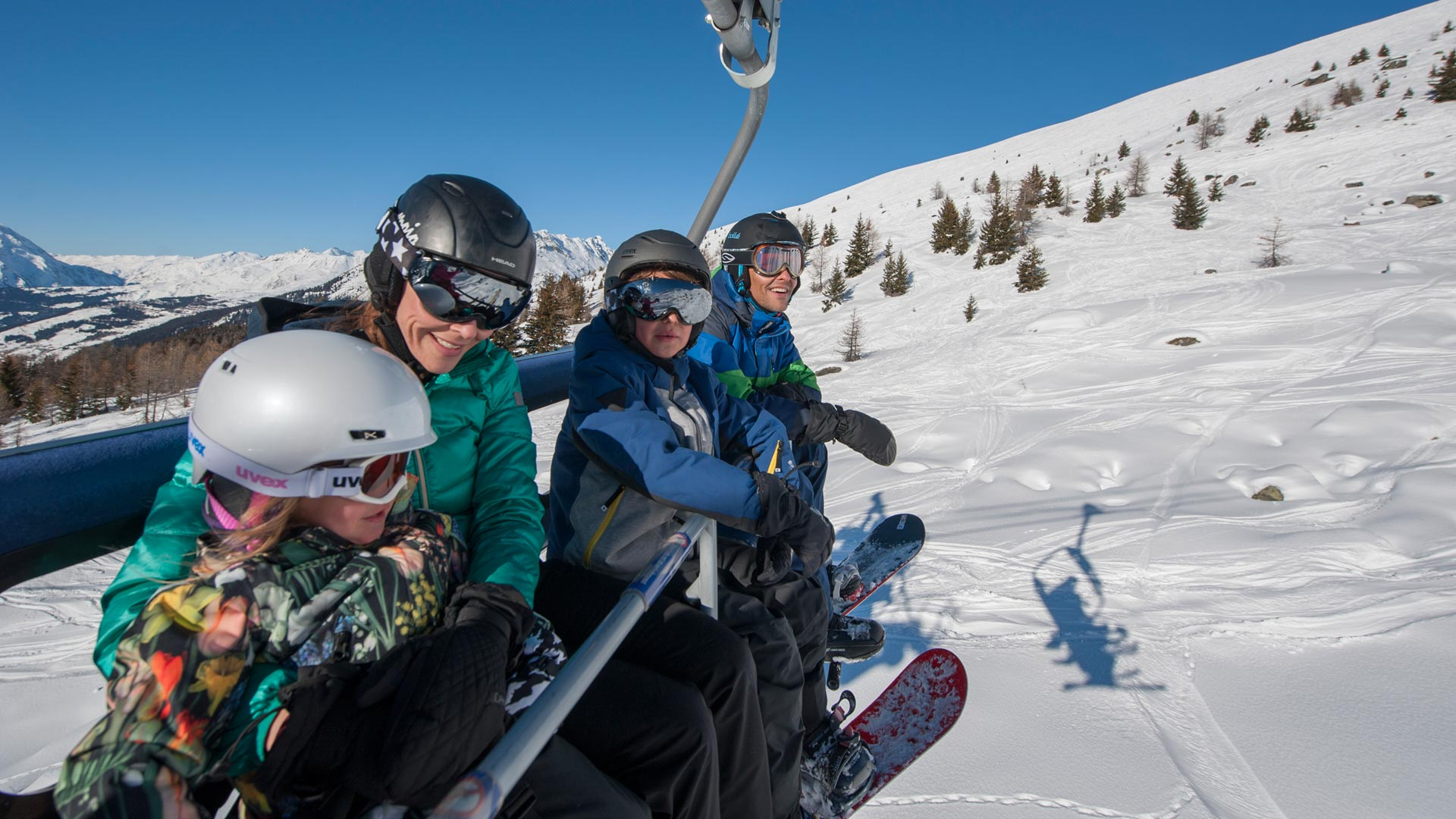 Family Ski Holidays in Sainte Foy
